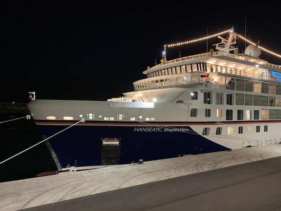 the Hanseatic Inspiration Cruise Ship
