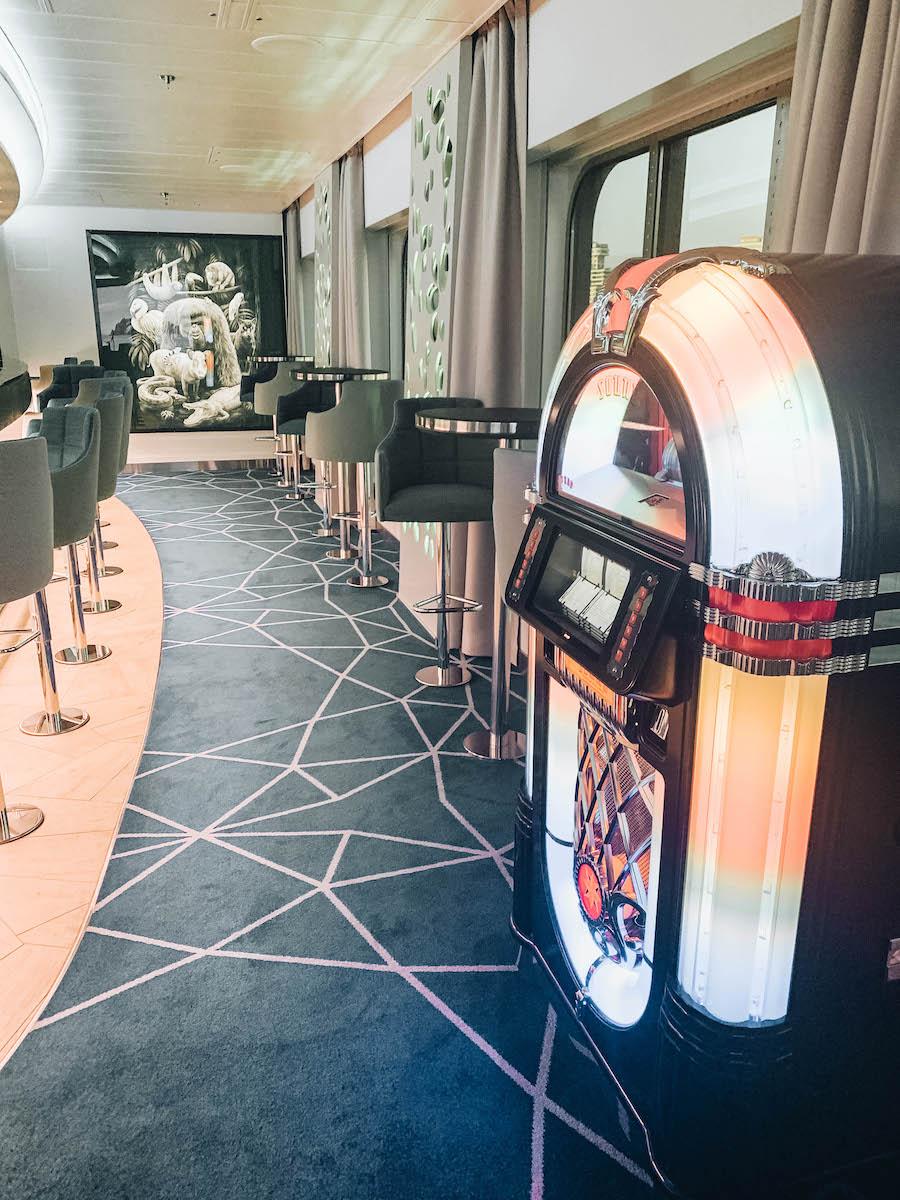 Bar on the Hanseatic Inspiration Cruise Ship