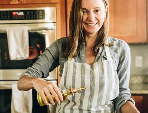 Recipe: Italian Sausage & Oven Roasted Eggplant Farro Risotto