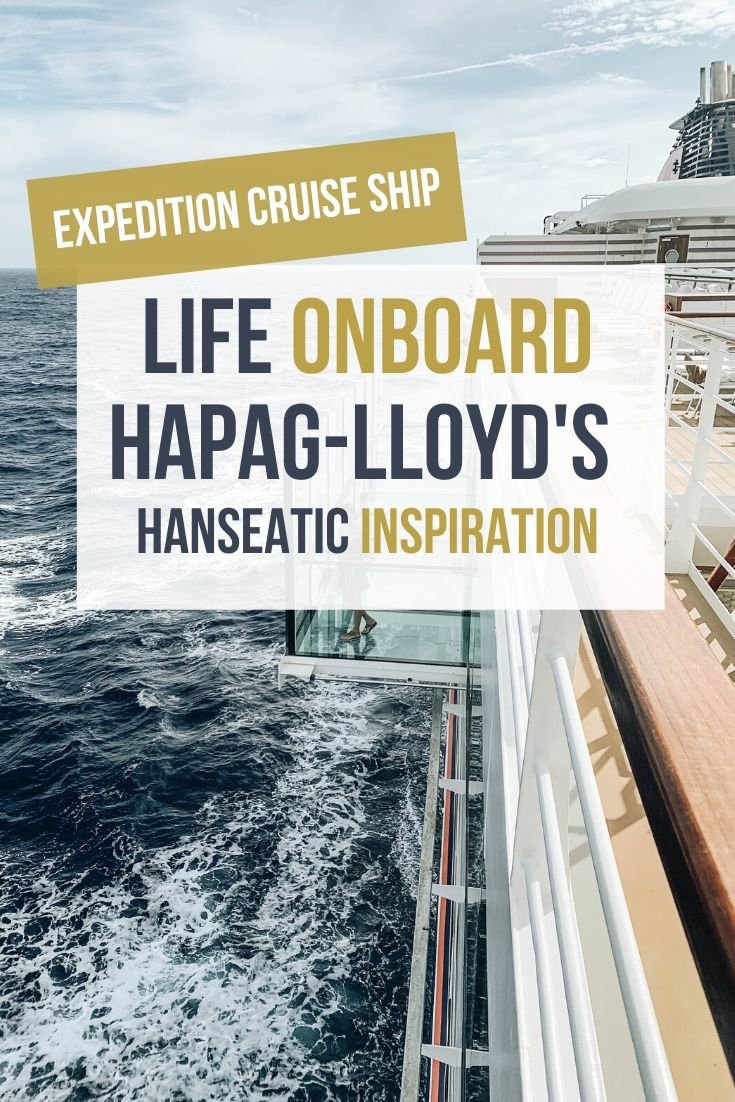 What to Expect Onboard Hapag-Lloyd's the Hanseatic Inspiration Cruise Ship