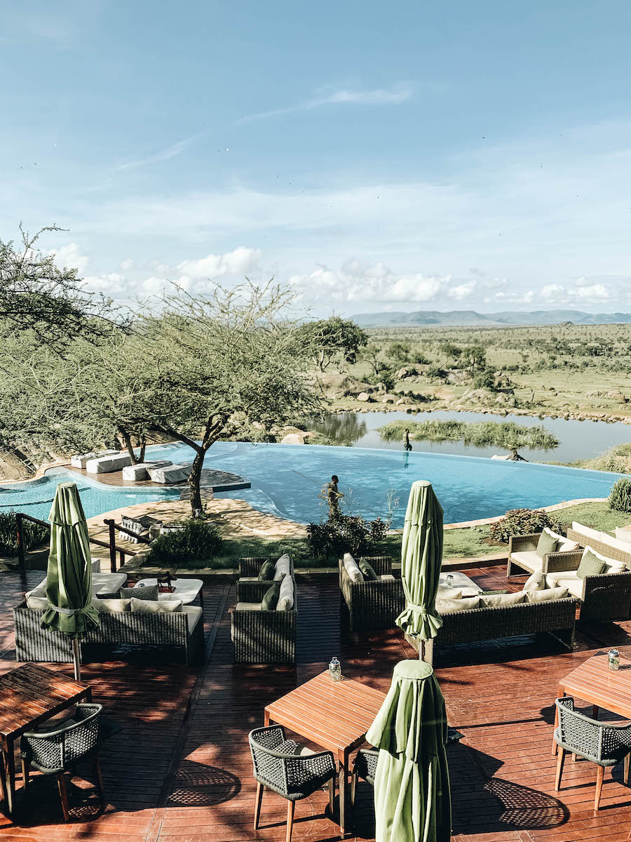 The Pool at Four Seasons Safari Lodge in Serengeti National Park