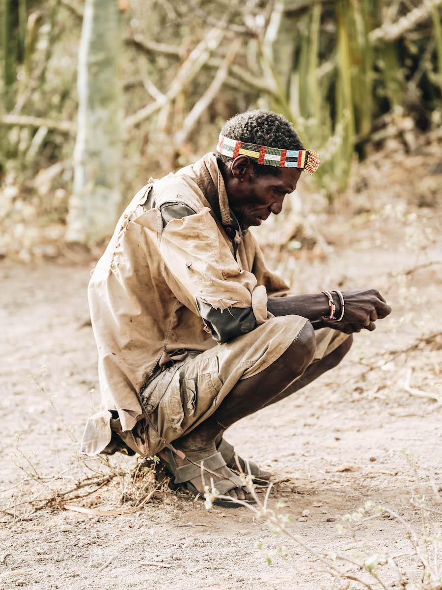 Hadzabe Bushman in Tanzania