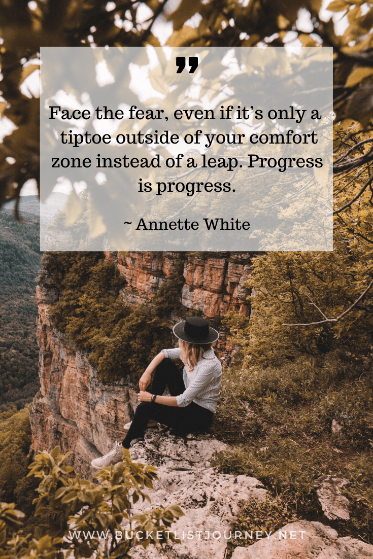 Quote by Annette White | Quotes that Will Motivate You to Step Outside of Your Comfort Zone