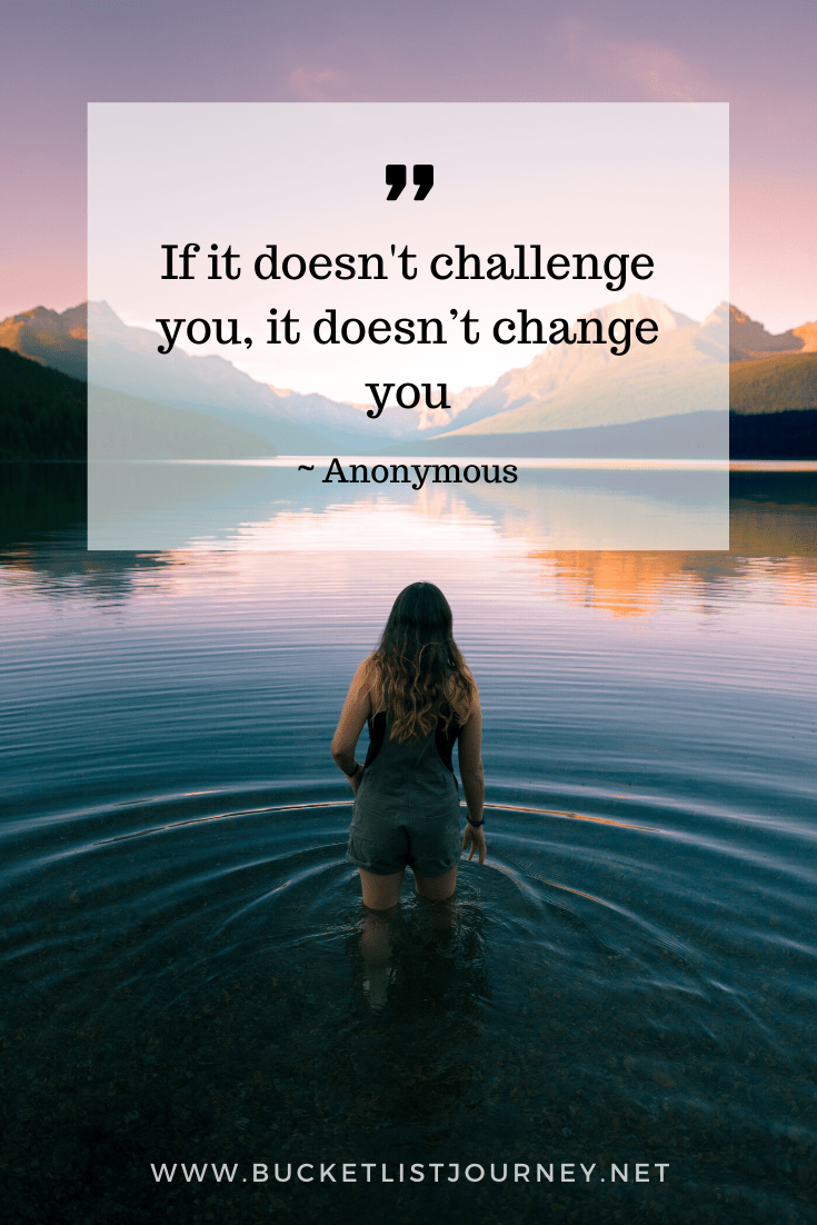 Quote about challenge and change | Quotes that Will Motivate You to Step Outside of Your Comfort Zone