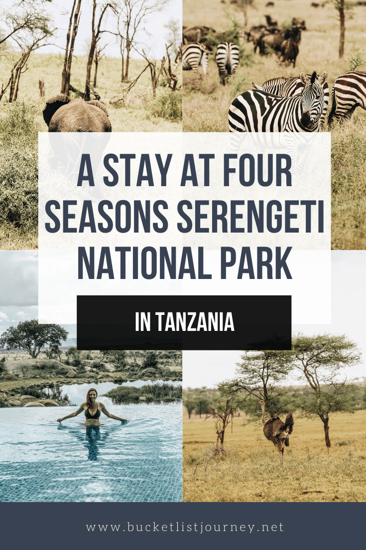 Four Seasons Safari Lodge: Luxury in Tanzania's Serengeti National Park