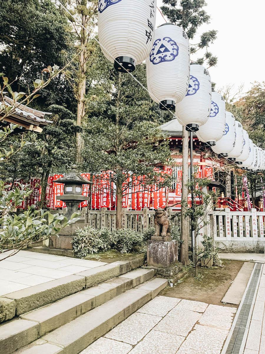 Enoshima Shrine near Tokyo