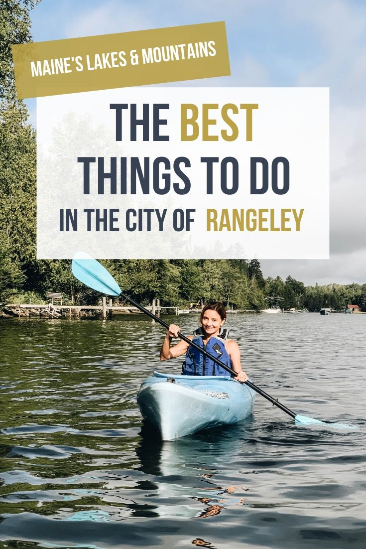 Rangeley Bucket List: Summer Things to Do in Maine's Laidback City