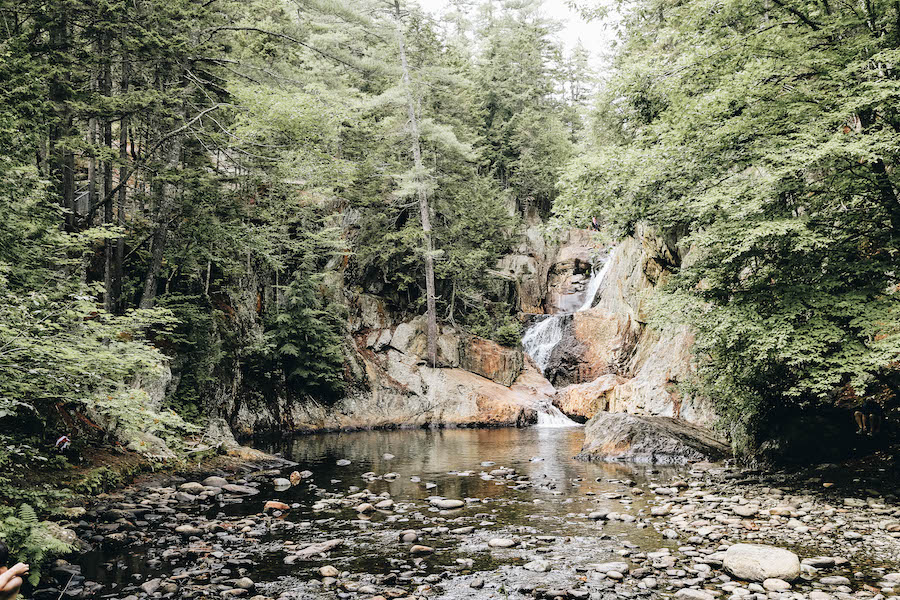 Small Falls in Rangeley Maine