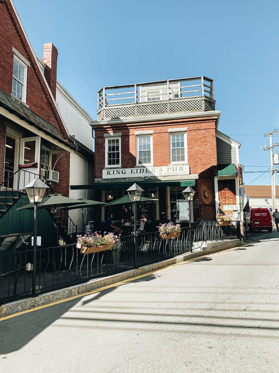 Damariscotta's Historic Main Street