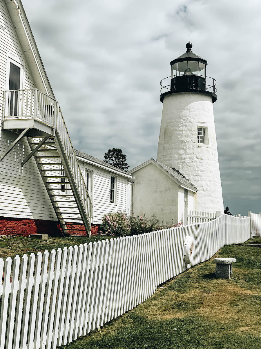 Pemaquid Point Lighthouse in Midcoast Maine