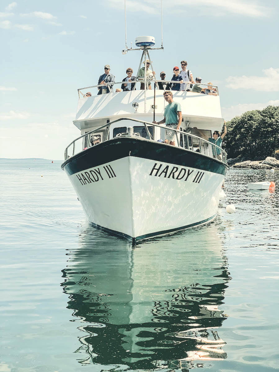 Daytrip to Monhegan Island from Pemaquid Point
