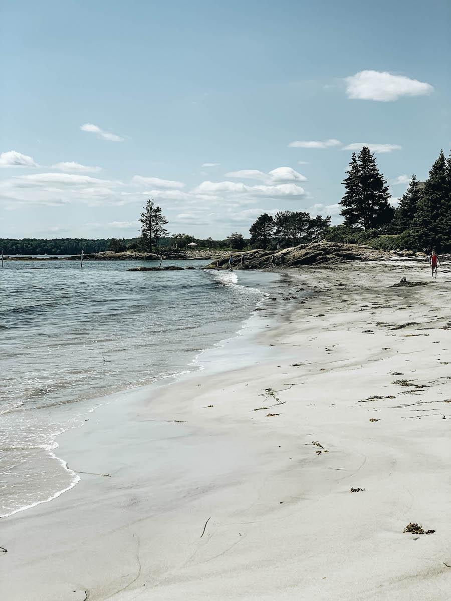 Pemaquid Beach Park in Maine