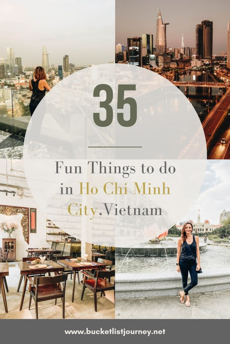 The Best Attractions to See and Things to do in Ho Chi Minh City (Saigon)