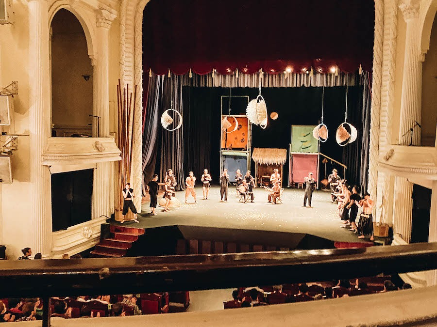 The AO Show at Saigon Opera House is one of the Best Things to Do in Ho Chi Minh