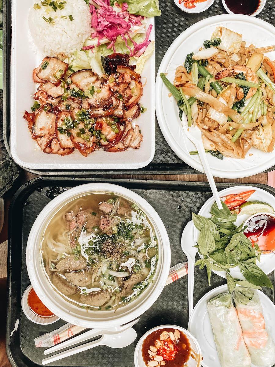 Ho Chi Minh Street Market Food