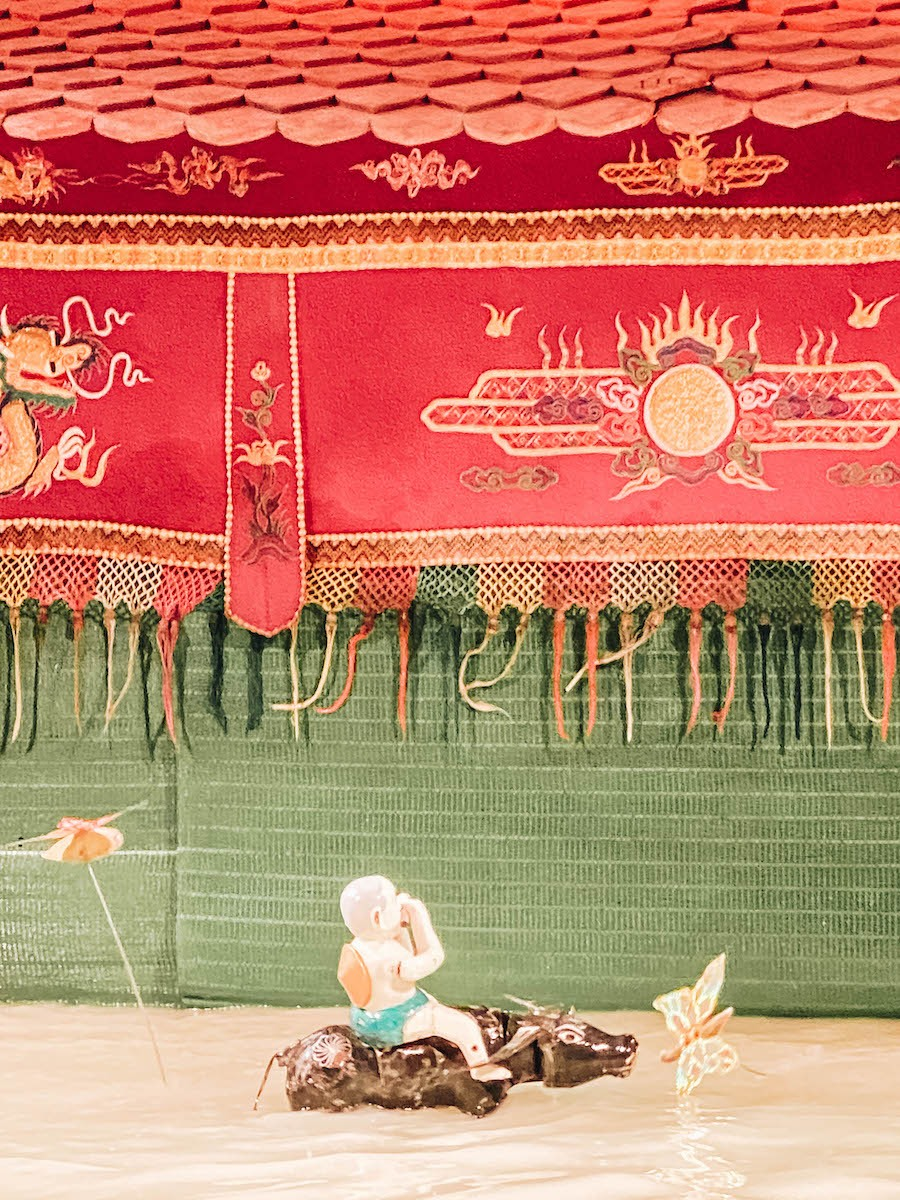 Golden Dragon Puppet theater in Ho Chi Minh - Saigon