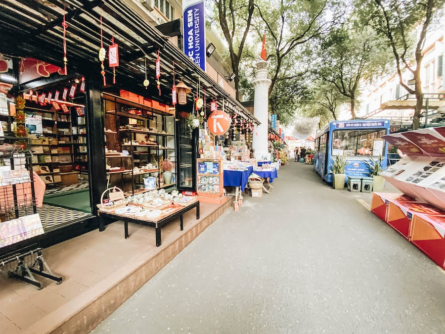 Book Street in Ho Chi Minh Best Things to Do