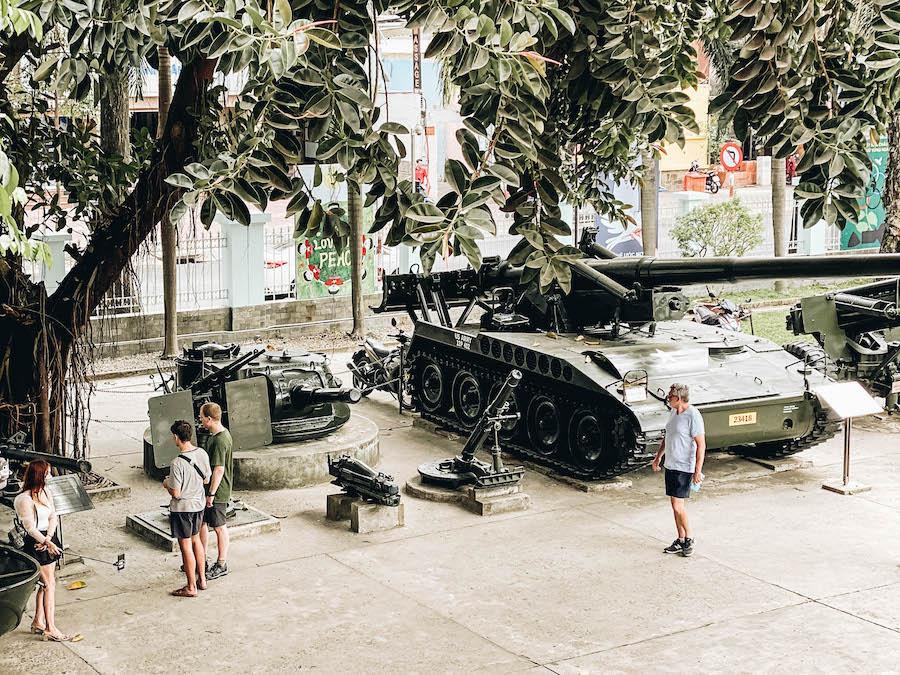 Ho Chi Minh Activities: War Remnants Museum