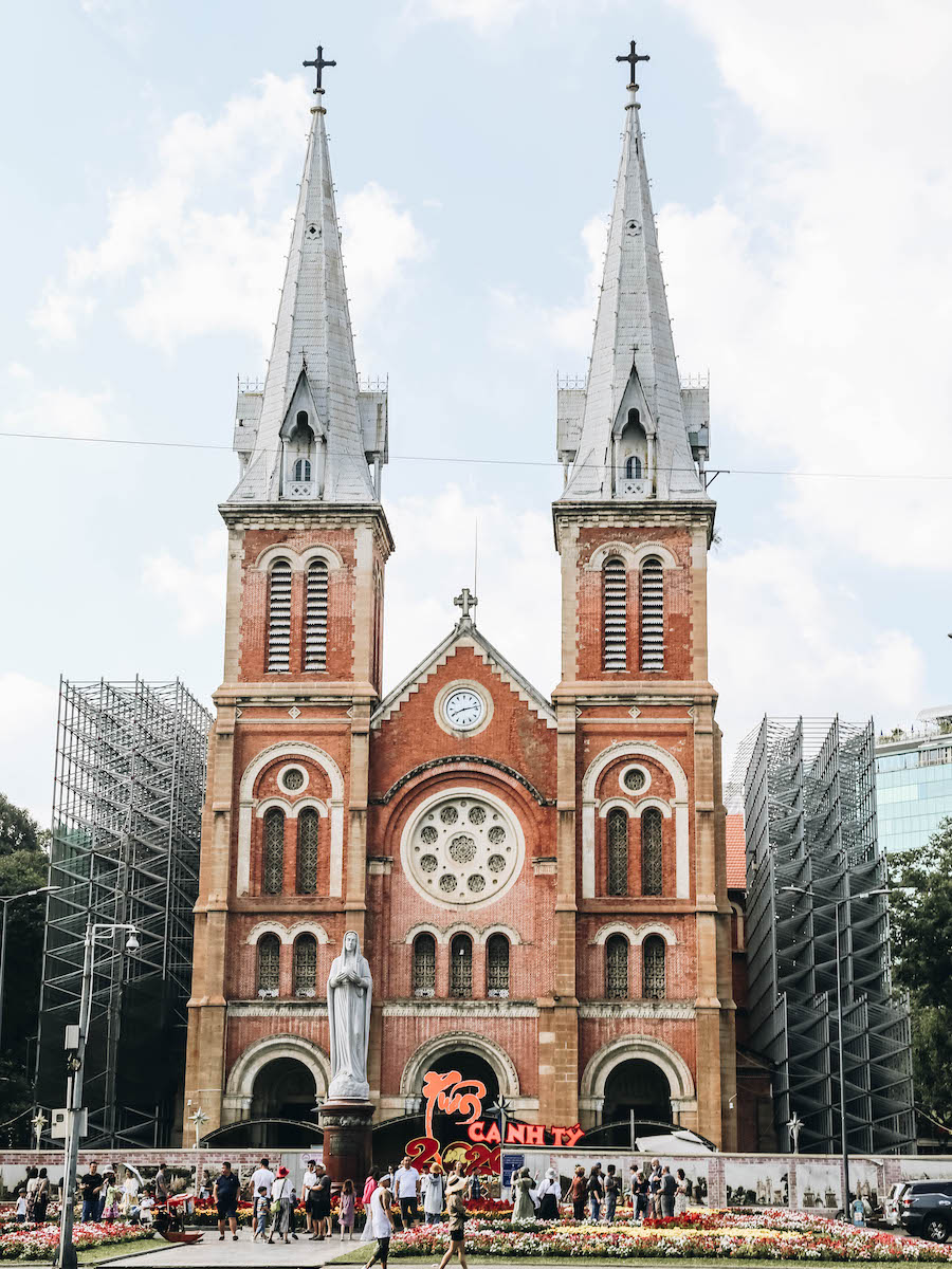 Ho Chi Minh's (Saigon) Notre Dame Cathedral