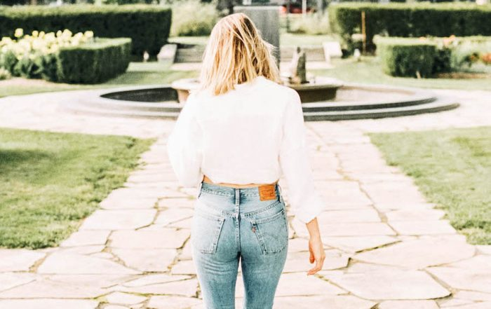 Levi's jeans for the fashion girl