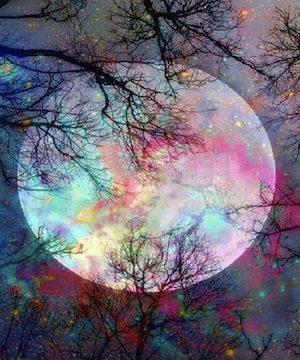 moon Paint by Numbers