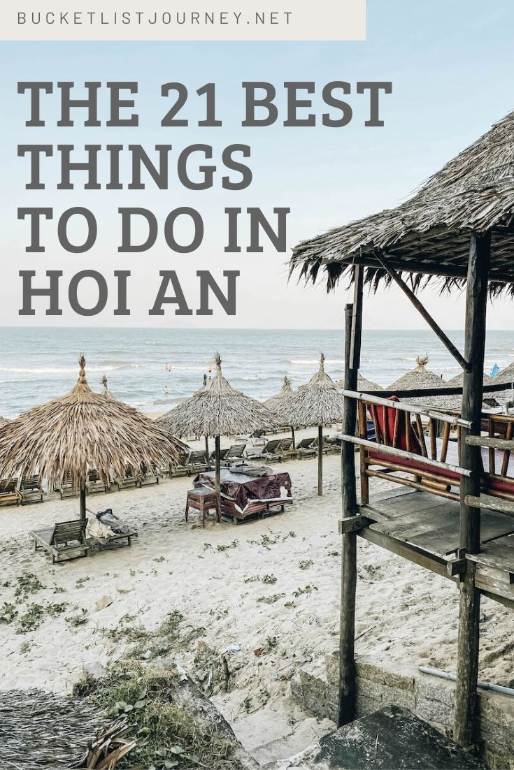 The Best Things to Do in Hoi An—Vietnam's Ancient Town