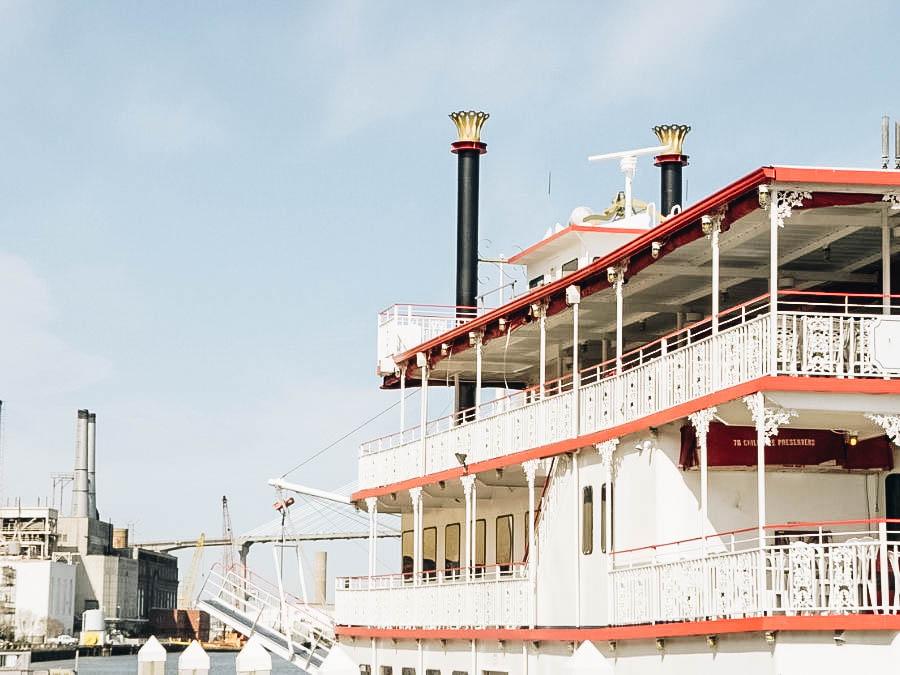 Take A Riverboat Cruise