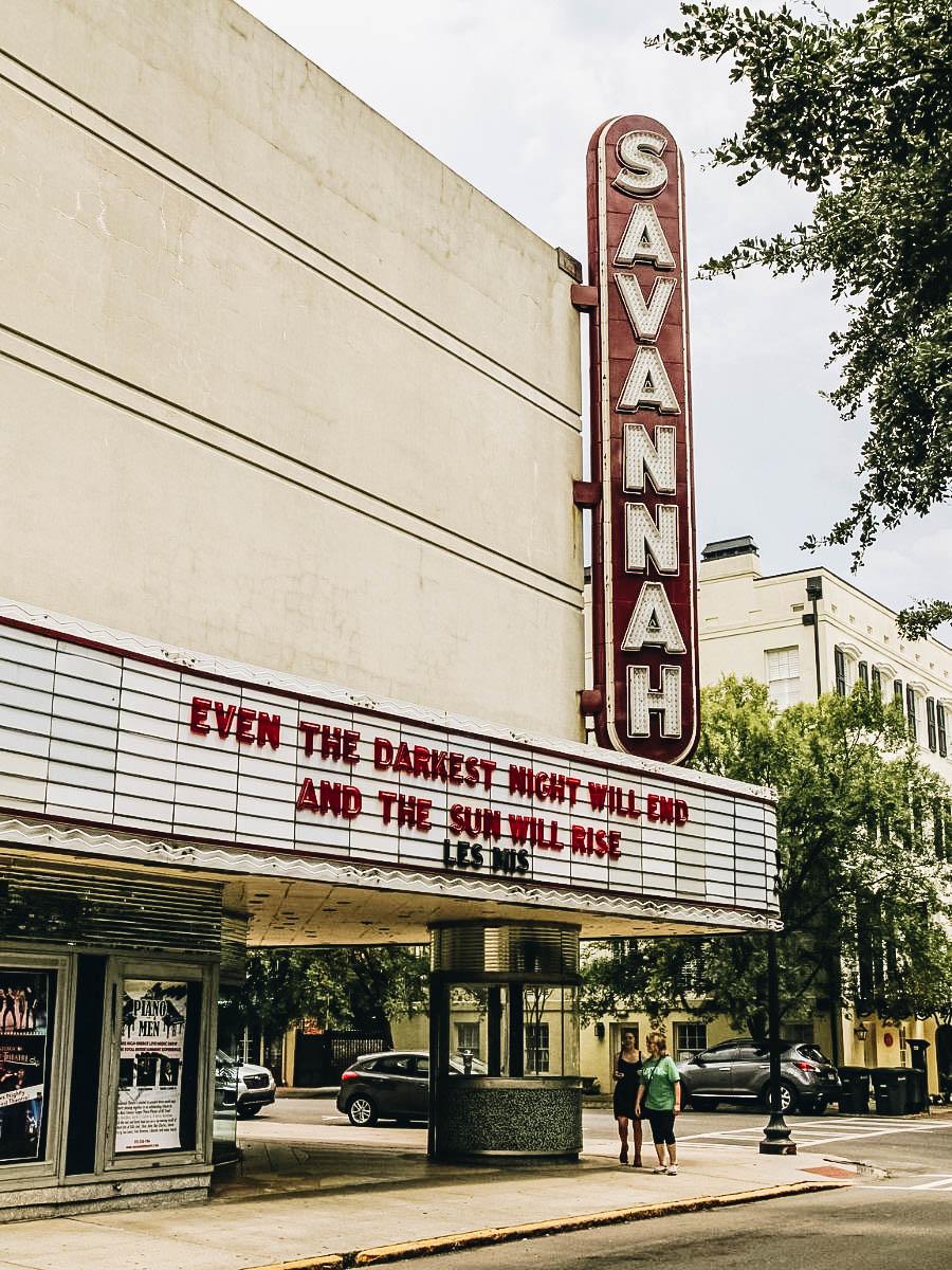 See a Show at the Historic Savannah Theater