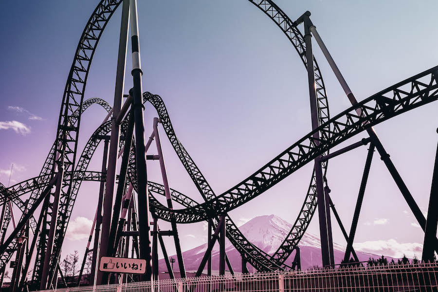 A Roller coaster for your bucket list