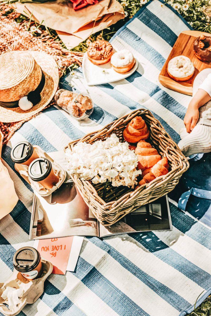 A pretty picnic setup