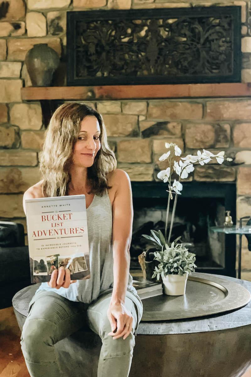 Annette White: Author of Bucket List Adventures