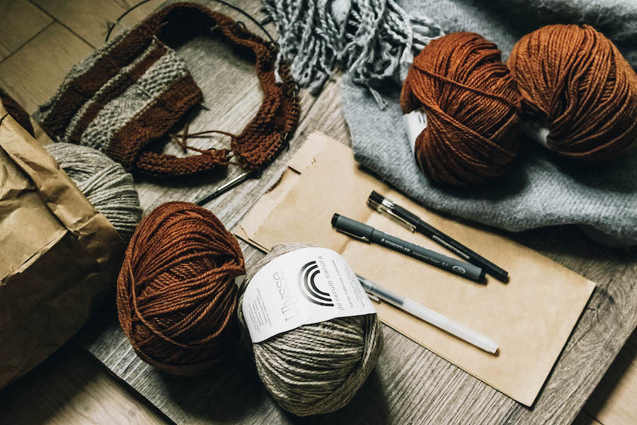 Fall Bucket List: Knit a scarf