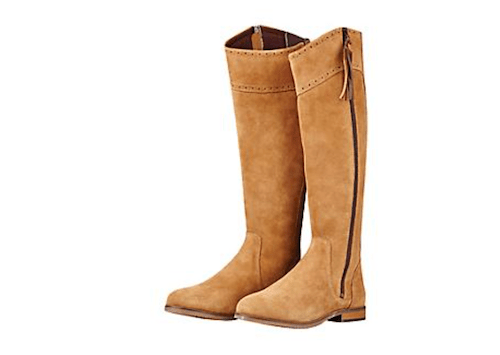 Women's Travel Boots - Camel Riding Boots for Fall
