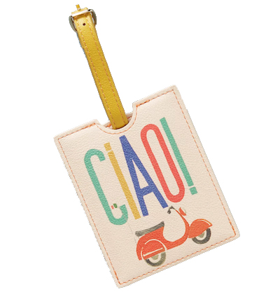 Anthropologie Ciao Luggage Tag