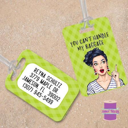 Fun & Funny Luggage Tags