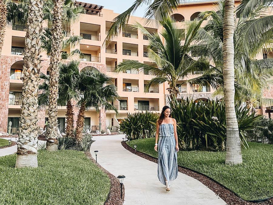 Annette White at Villa del Palmar Hotel Resort in Baja California