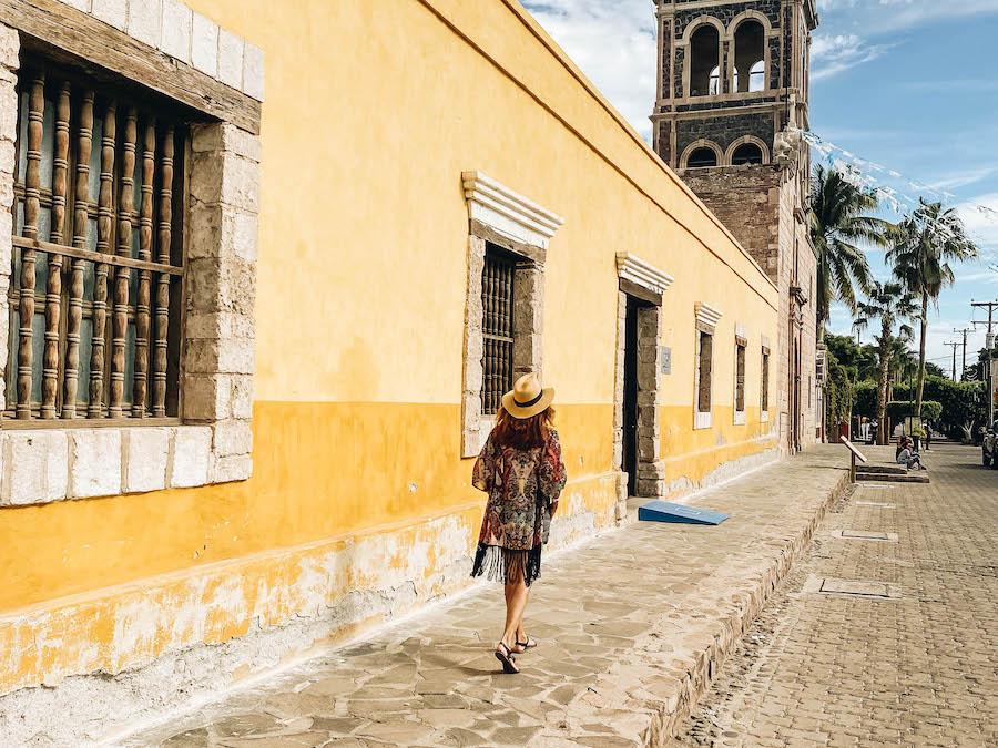 The city of Loreto Mexico