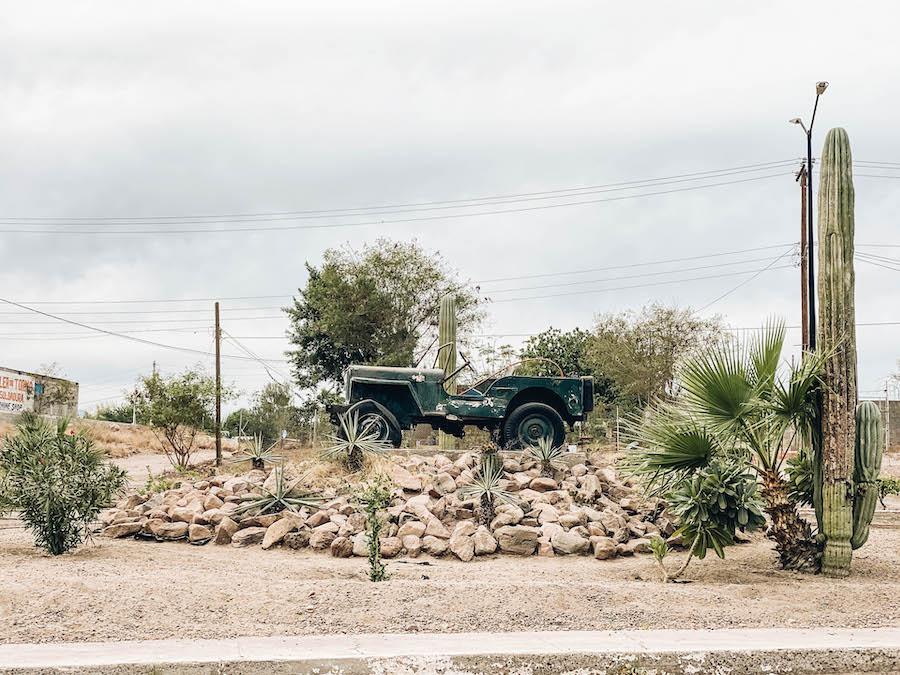 First Car in Loreto Mexico