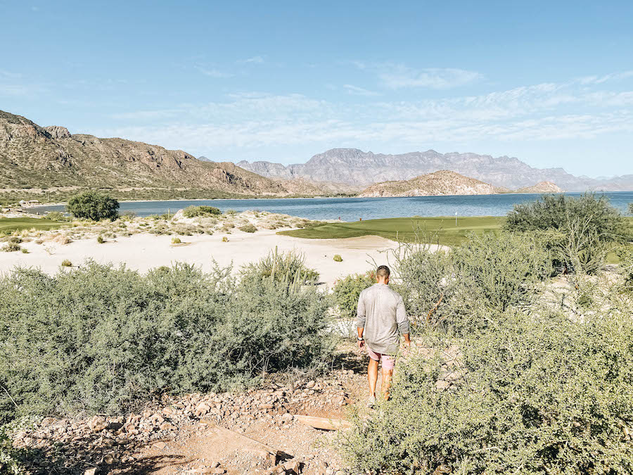 Hiking at Loreto's Villa del Palmar