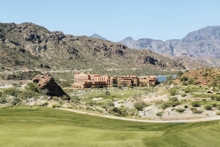 TPC Danzante Bay Golf course in Mexico
