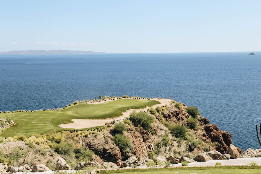 TPC Danzante Bay Golf course in Mexico