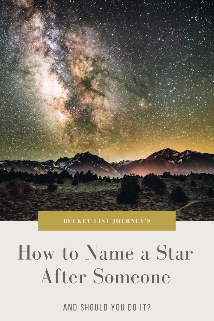 How to Name a Star After Someone as a Gift (or Buy One For Yourself)