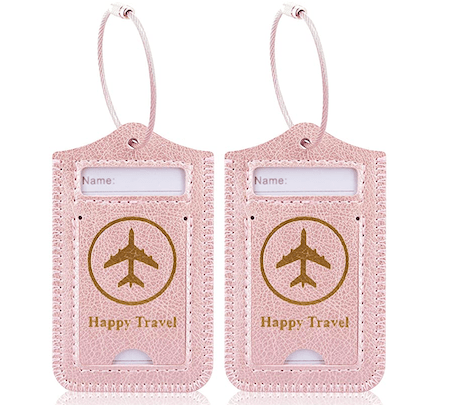 Happy Travel Bag Tag