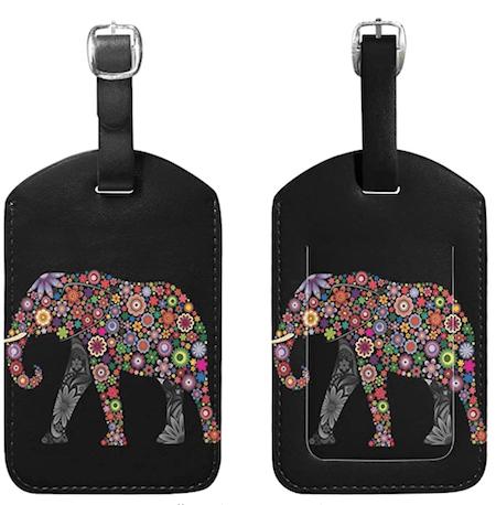 Elephant Baggage Tag
