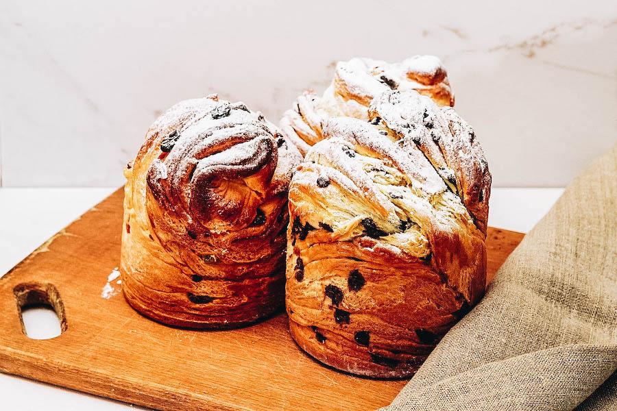 Baked Easter Bread