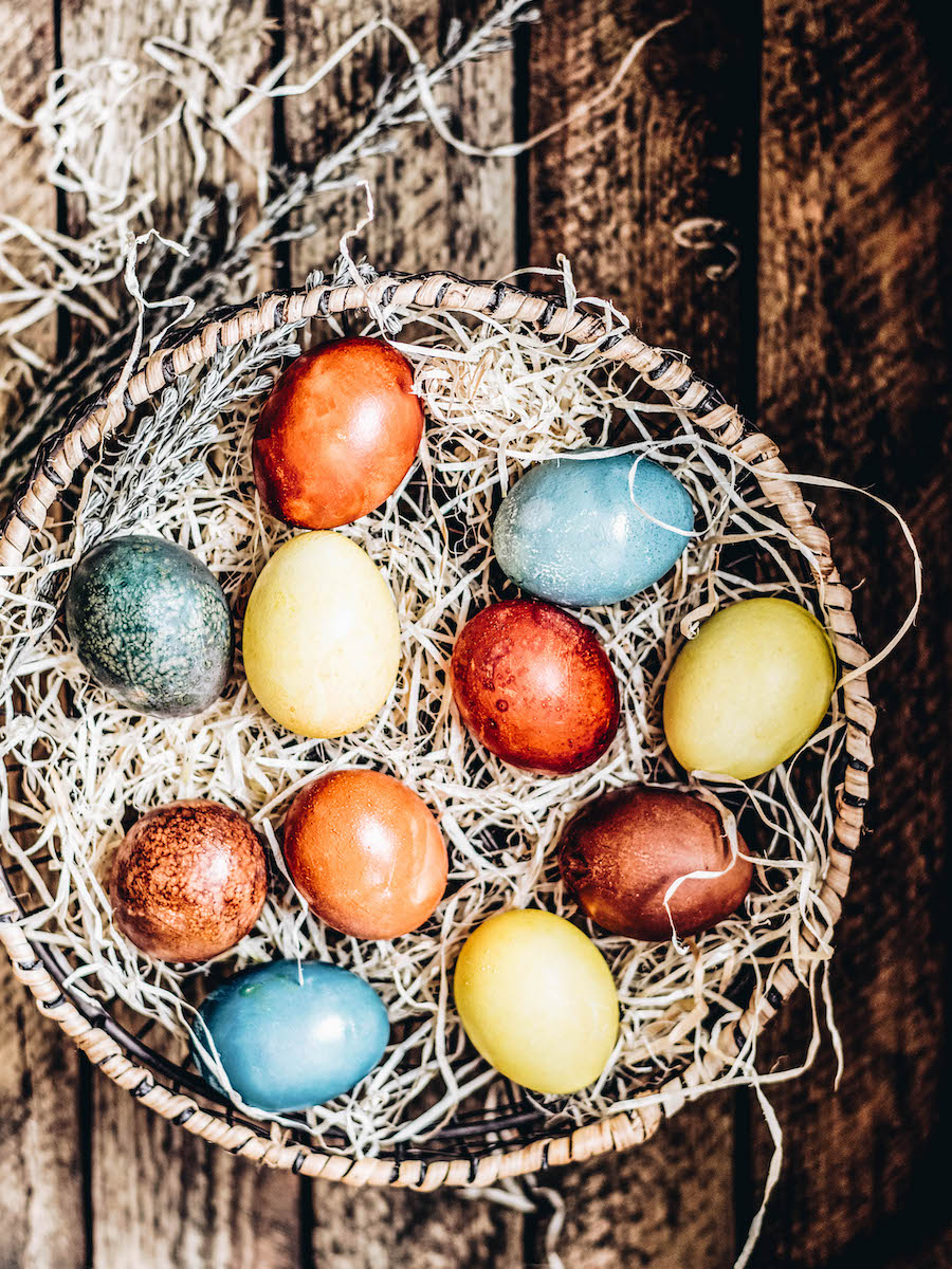 Things to do on Easter: Decorate Easter Eggs