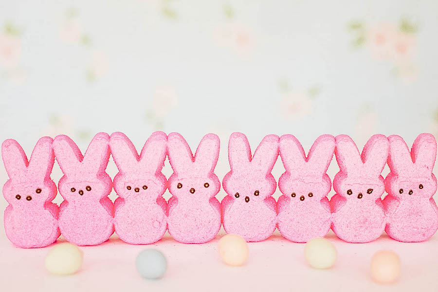 Bunny Peeps for Easter