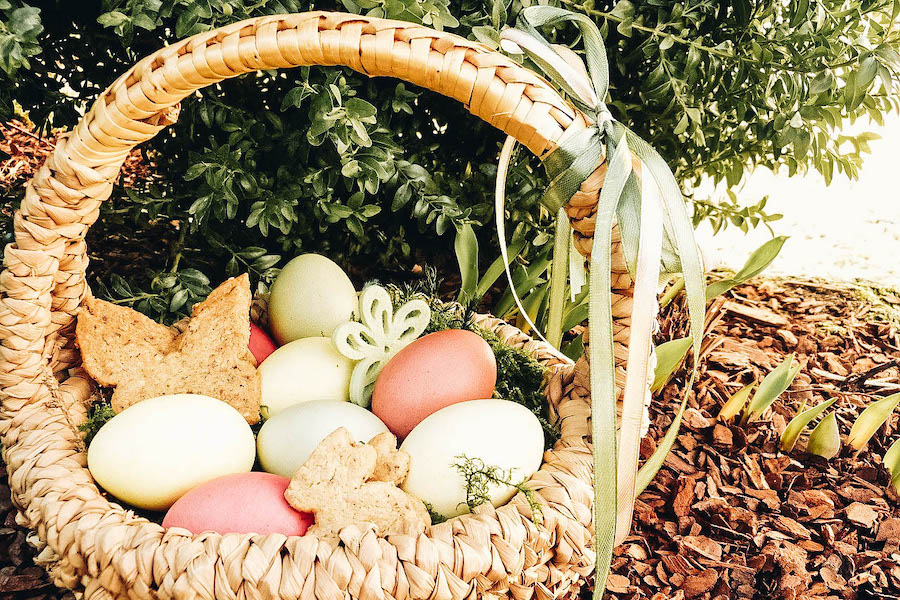 Make an Easter Basket for Someone