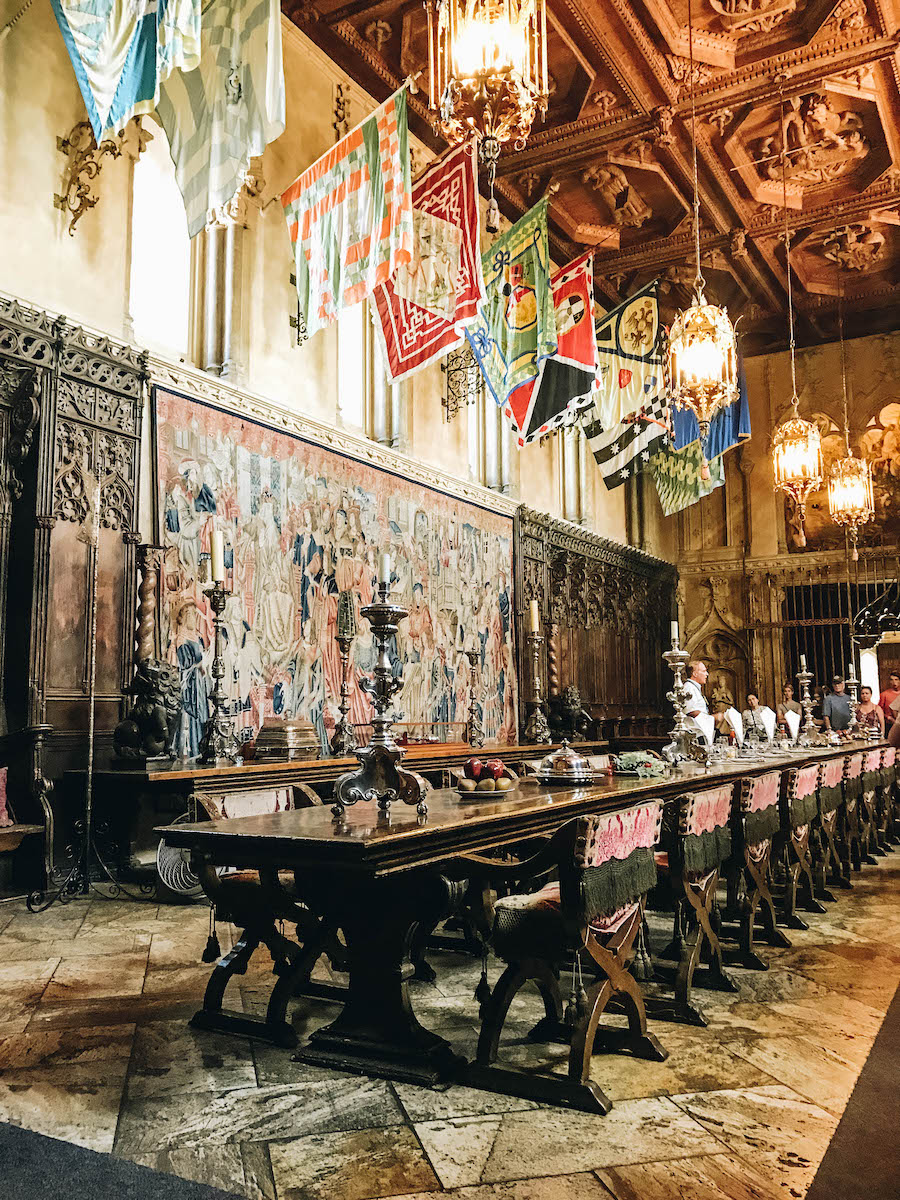 Interior Highlights of Hearst Castlein San Simeon, California