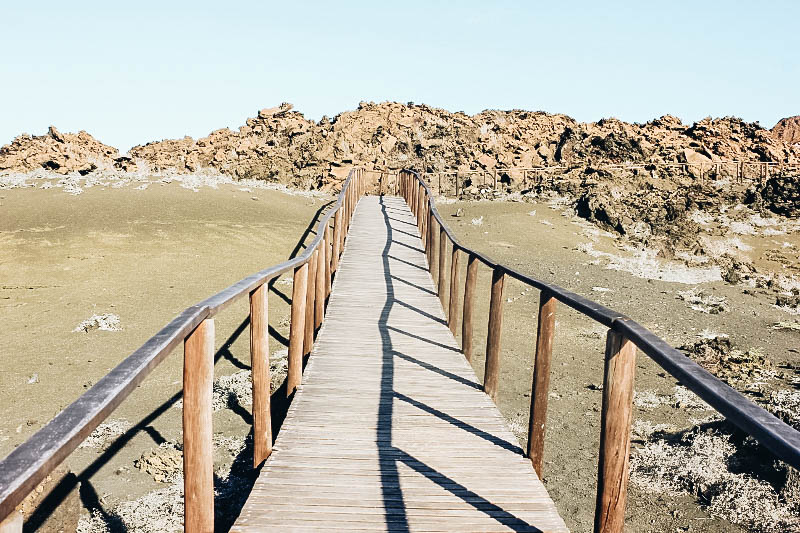 A view of Bartolome, Galapagos